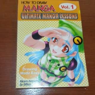 How to draw manga book Vol.1