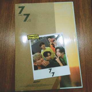 GOT7 Taiwan Press Album + Polaroid