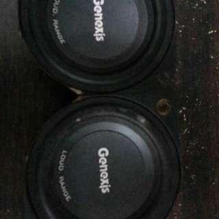 Speaker 4 inch genexis 800w