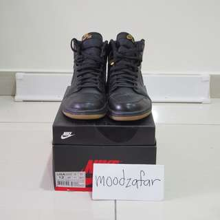 Nike Air Jordan 1 Black Gum uk11 us12