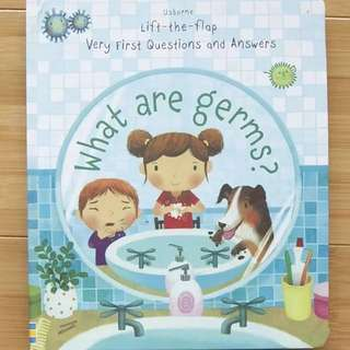 🚚 Usborne Lift-the-Flap what are germs?