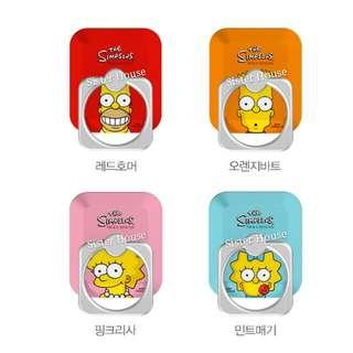 (包郵)🇰🇷The Simpsons Smart Ring 手機扣