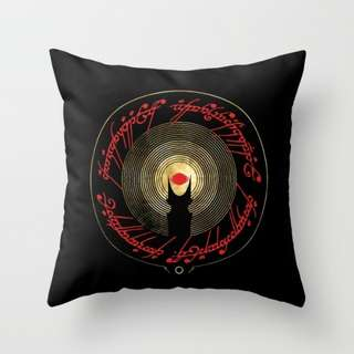 Lord Of the Rings Throw Pillow Cushion Cover