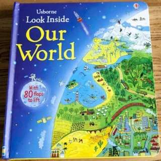🚚 Usborne Look Inside Our World