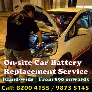 Car Battery Change