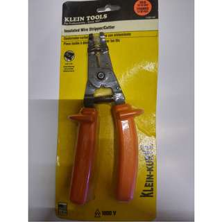 "KLEIN TOOLS 8"" Solid and Stranded Wire Stripper, 20 to 10 AWG Capacity"