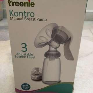 Treenie manual breast pump
