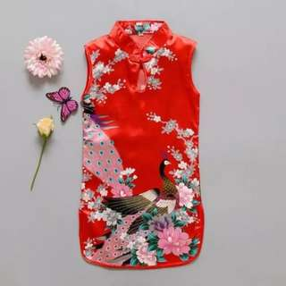 CNY Baby Girl CheongSam Dress (FREE POSTAGE)