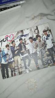 [PRELOVED] GOT7 GOT LOVE SIGNED ALBUM FROM MWAVE