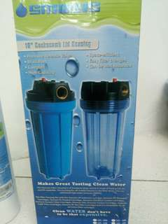 Inline Water Filter FREE 1 Cannister