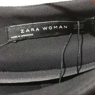 Zara Woman Mini Peplum Skirt