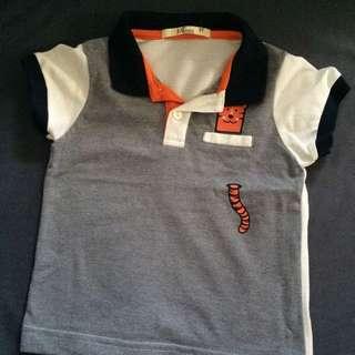 SM Just Tee Baby Boy Polo Shirt