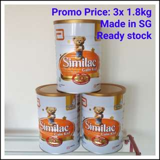 Similac Gain Kid Stage4 - ready stock free delivery