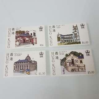 (全品)1985年香港歷史建築物郵票