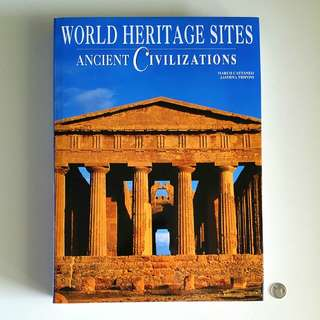 World Heritage Sites: Ancient Civilisations by Marco Cattaneo and Jasmina Trifoni (Adult Non-Fiction History Reference)
