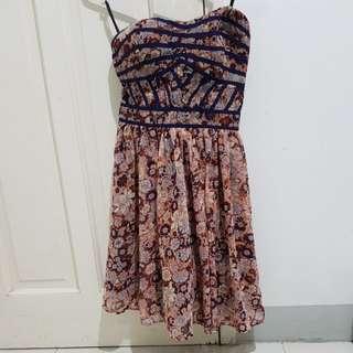 Dotti sweetheart neckline tube dress *repriced