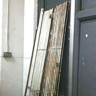 Vintage Metal Collapsible Gate