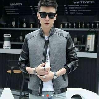 Korean leather jacket