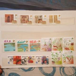 Singapore stamps. 4 set.