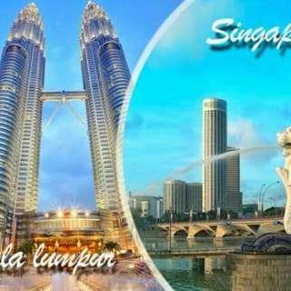 5 DAYS - 4 NIGHTS SINGAPORE + KUALA LUMPUR TWIN CITY TOUR