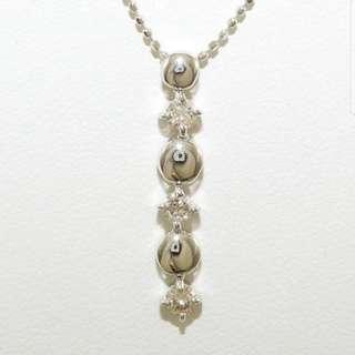 0.3 ct - 18k Diamond Necklace