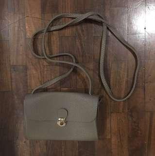 Taupe Sling Bag