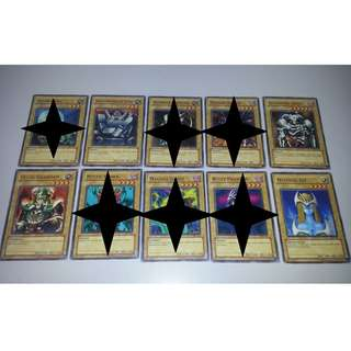 [BUNDLE] Yugioh Original Cards from Yugi Starter Deck