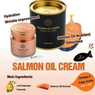 Salmon oil cream