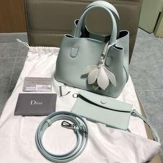 (全新)Dior Blossom blue bag