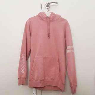 dusty pink jayjays hoodie