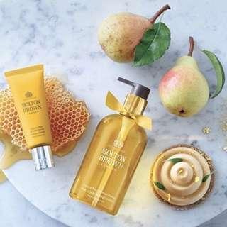 Molton Brown Hand Cream in Comice Pear & Wild Honey