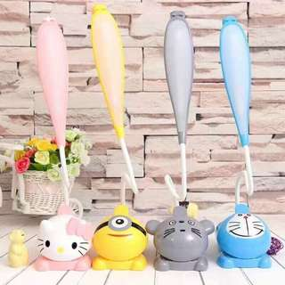 character lamp (hellokitty,doraemon,minion)
