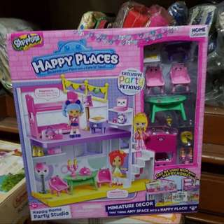 Shopkins Happy Places Party Studio