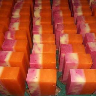 Tomato, Oatmeal, Calamansi with Gluta and other Soaps!!