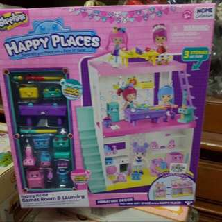 Shopkins Happy Home Games Room & Laundry