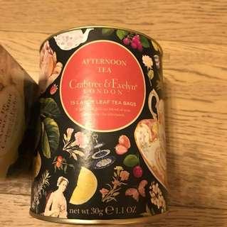[全新低放] 英國製造 afternoon tea high tea 下午茶 紅茶黑茶 抗養化 共40包