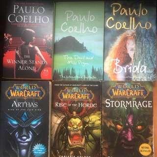 Warcraft / Research / Mitch Albom / Paulo Coelho / Novels & books