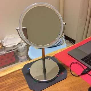 Mirror with big loop