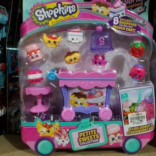 Shopkins Petite sweets Collection