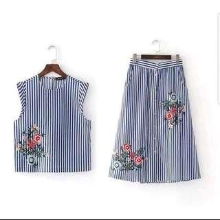 Terno ( top + skirt)