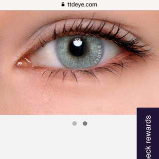 Colour contact lenses