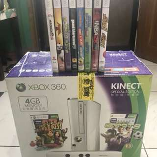 Xbox 360 with Kinect with Hard Drive
