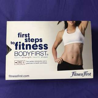 fitness first first steps to fitness guide books