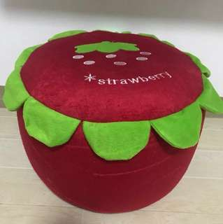 Strawberry Inflatable Stool for Kids