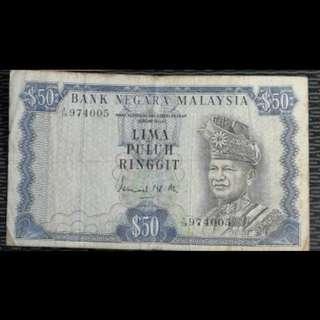 Old ringgit Malaysia