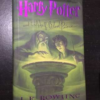 Harry Potter and the Half-Blood Prince (Book #6) HARDCOVER