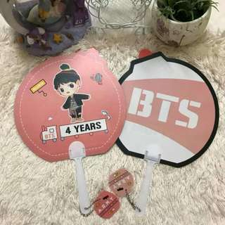 [READYSTOCK]BTS Army Bomb Hand Fan