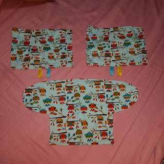 Baby Teething/Drool Pads for Baby Carriers
