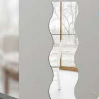 Brand New Curved Mirrors(4pcs)