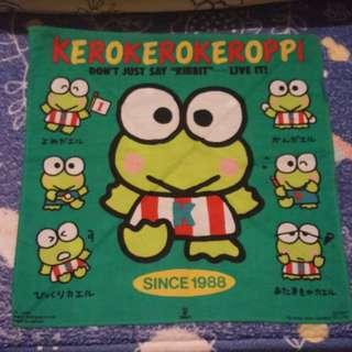 青蛙仔 Keroppi handkerchief